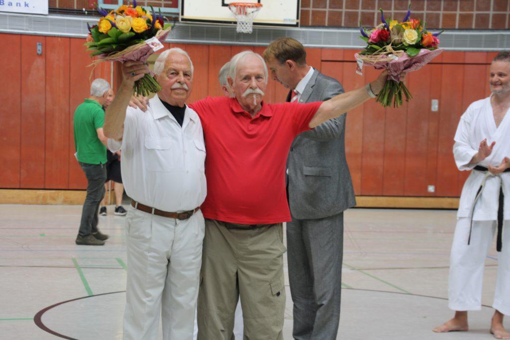 Willi Blatzheim, Hans Olck